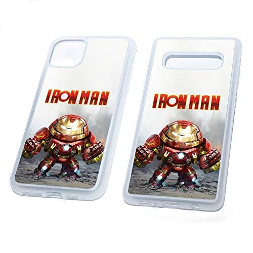 Chibi Iron Man Hulk Buster - Carcasa de goma TPU para teléfono, compatible con iPhone 7 Plus/8 Plus (fabricado en Silicona suave)