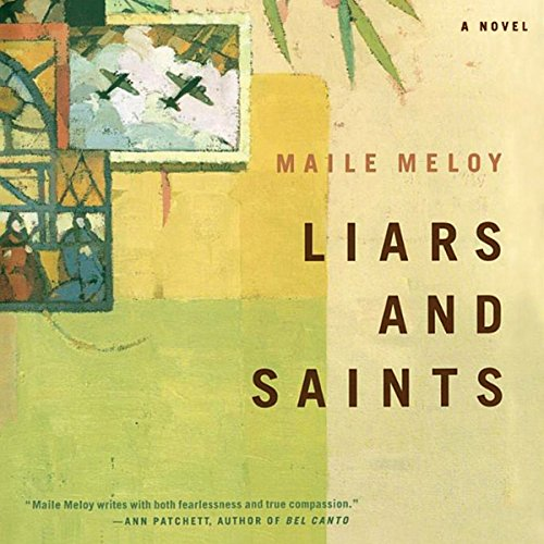 Liars and Saints audiobook cover art