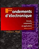 Fondements d'électronique - Circuits, composants et applications