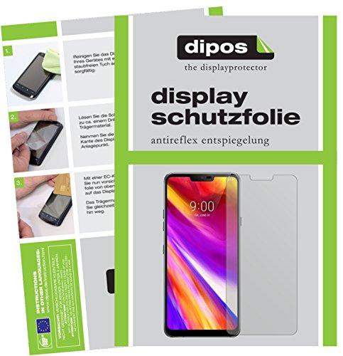 dipos I 6X Schutzfolie matt kompatibel mit LG G7 ThinQ Folie Bildschirmschutzfolie