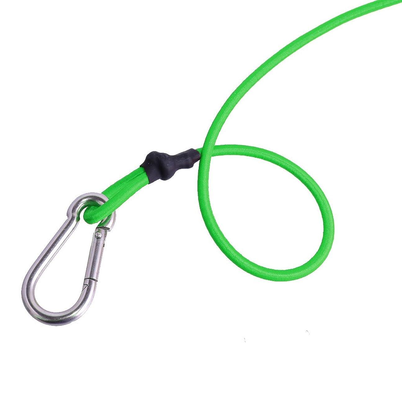 パレード驚ますますDovewill 弾性 カヤック カヌー リーシュコード 安全リーシュ 釣り竿ストラップ パドルリーシュ 全7色 - グリーン