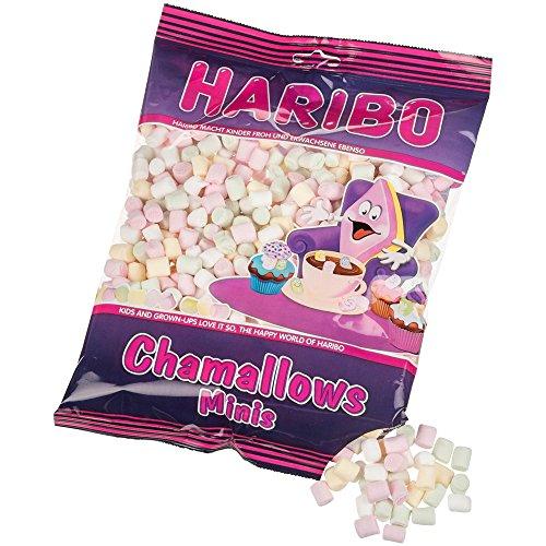 Haribo Chamallows Minis, Malvaviscos, Marshmallows, Masmelos, 200 g