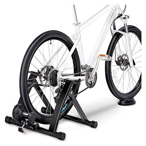 OESFL Formateur à Rouleaux de Machine à roulettes à vélo avec Frein magnétique Vélo Vélo Vélo Vélo Bicyclettes Vélo à vélo d'entraînement en intérieur Vélo 26-29 Pouces Vélo de Course MTB & 700C