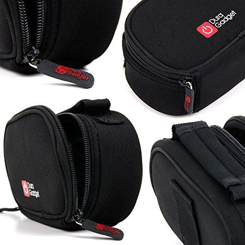 DURAGADGET Bolsa para cámara de vídeo digital resistente al agua, compatible con JVC Everio GZ y MS Range