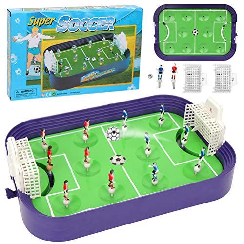 Phayee Mini Juego de fútbol de Mesa, Mini Mesa de fútbol, Juguete de fútbol de Entrenamiento Interactivo de Escritorio, Juego de Juego de Fiesta Familiar, Entretenimiento Divertido para niños Adultos