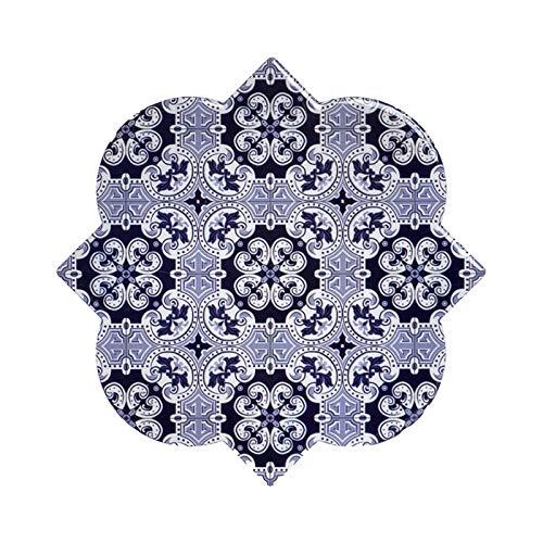 De onderzetters van Hogar y Mas worden individueel uitgevoerd en in Dolomieten, met abstracties. Design - tegels, met in het mediterranen - C