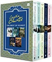Agatha Christie The Best Of Poirot 5 Books Box Set Collection Pack