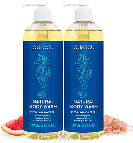 Puracy Natural Bath & Shower Gel for Men and Women