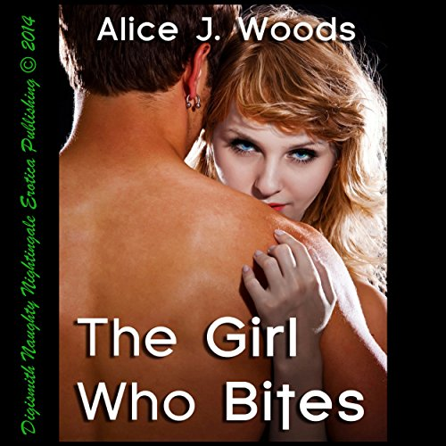 The Girl Who Bites audiobook cover art