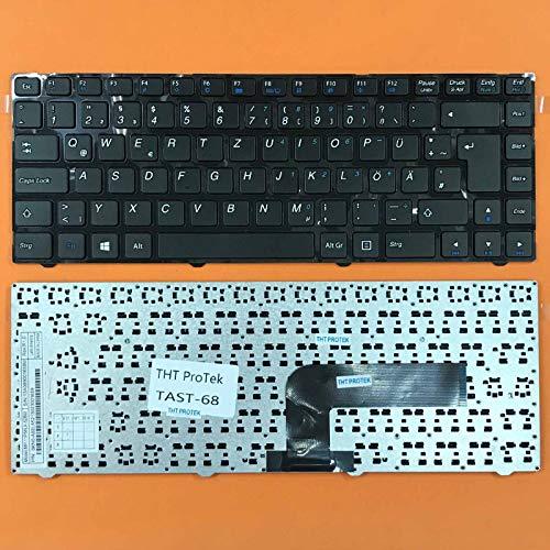 kompatibel für Medion Akoya MD99080, MD98419 DEUTSCHE - Schwarz Tastatur Keyboard
