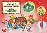 Advent und Weihnachten. Kamishibai Bildkartenset.: Entdecken - Erzählen - Begreifen: Das Kirchenjahr.: Mit dem Erzähltheater durch das Kirchenjahr