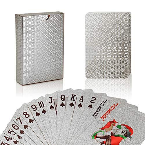 Heylas Speelkaarten, folie, waterdicht, poker, classic tricks, tool voor feestjes en spelletjes, hoge kwaliteit voor pokerplezier