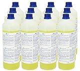 Teppich-Shampoo (12 x 1L Flasche) für alle Waschsauger - sehr ergiebig! Mischverhältnis 1:200...