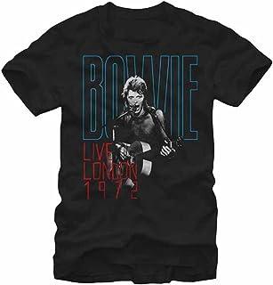 DAVID BOWIE デヴィッド・ボウイ (Space Oddity発売50周年記念) - LIVE LONDON 1972 / Tシャツ/メンズ 【公式/オフィシャル】