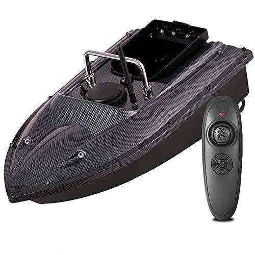 ZJRA Köder Boot,Fischköder-Boot, 2,4 Ghz RC-Köder Fischerboot,Bait Boot 1,5 Kg Last Assisted-Fischen-Werkzeug, Große Kapazität 5200Mah Batterie, Multiple Shell Farben Zur Auswahl,Fiber