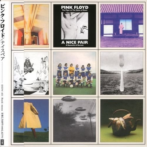 Pink Floyd – A Nice Pair 2CD MINI LP WITH OBI with inserts