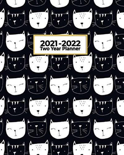 2021-2022 Two Year Planner: Black Cat Collection | Perfect...