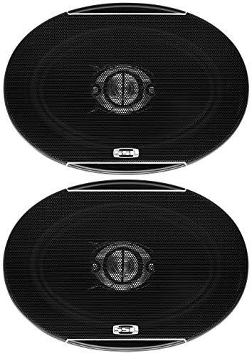 Sound Storm SLQ469 6 X 9 Inch Car Speakers - 500 Watts of Power Per Pair, 250 Watts Each, Full Range, 4 Way, Sold in Pairs