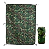 Acme Approved Military Grade Poncho Liner Blanket - Woobie (Woodland Camo)