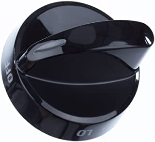 316442513 Range Surface Burner Knob Genuine Original Equipment Manufacturer (OEM) Part Black