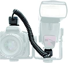 Agfa Photo Off Camera Shoe Cord for Nikon D3000, D5000,D5100,D5200,D5300,D5500, D7000,D7200,D7100,D90,D600,D800,D800E,P7000,P7100 and Other Cameras