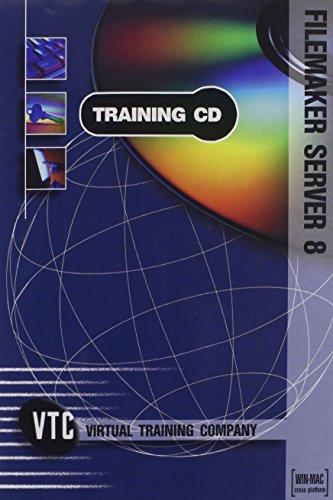 FileMaker Server 8 VTC Training CD