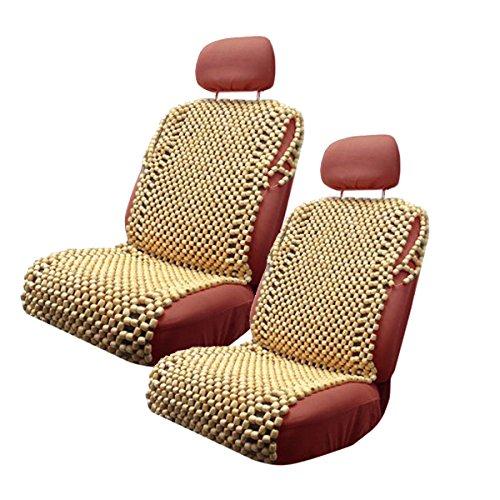 VaygWay Royal Wood Bead Seat Cover Massage Cool Premium Comfort Cushion (2)
