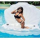 Fila Flotante Inflable NWLGL GIANTE Perla DE Perlas DE Perlas Piscinas DE Piscina Juguetes Inflatable, Piscina DE Playa DE Verano Piscina INFLADABLE FLOATEIE HABITABLE Loungers