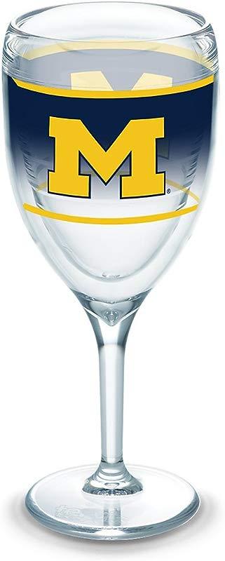 Tervis 1292146 NCAA Michigan Wolverines Original Wine 9 Oz Clear