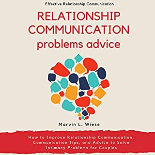 Relationship Communication Problems Advice audiobook cover art
