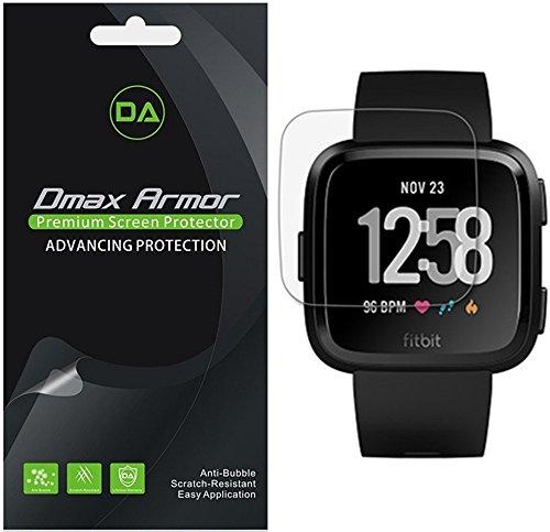 [6-Pack] Dmax Armor for Fitbit Versa/Versa Lite Edition Anti-Glare & Anti-Fingerprint (Matte) Screen Protector