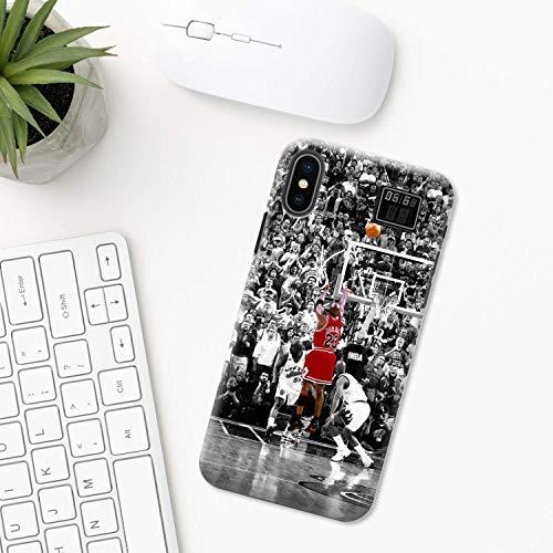 Baloncesto iPhone Funda XR 11 X XS MAX Pro 8 7 Plus 6 6s 5 5s SE 2020 10 Plastico Silicona Apple iPhone Cubierta del Teléfono Regalo Arte equipo Jordán deporte amor liga remojar