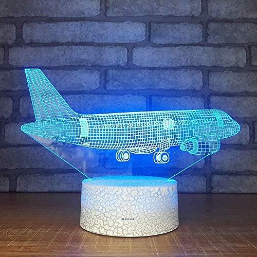 groothandel LED 3D stereo lamp acryl mini nachtbatterij lampenkap voor tafellampen nachtkastje decoratieve lamp voor kinderen