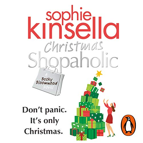 Christmas Shopaholic audiobook cover art