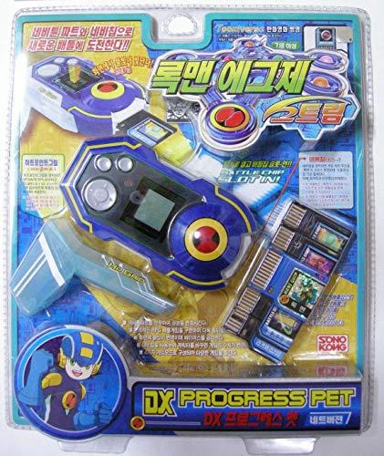 Rockman EXE (Mega Man) : Dx Progress PET Net Version Blue