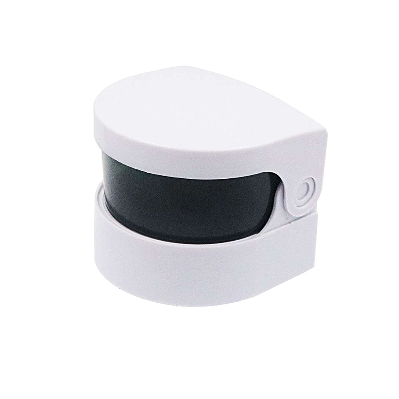 に沿ってネックレット変更可能Healifty 超音波クリーナー義歯クリーナーバスジュエリー時計用クリーニングマシンメガネコイン(ホワイト)