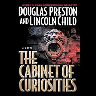 The Cabinet of Curiosities audiobook cover art