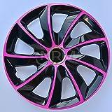 Centurion Radzierblende STIG extra pink/schwarz 15 Zoll 4er Set