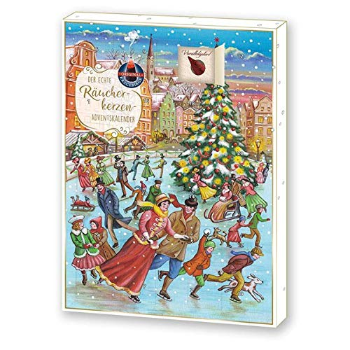 Räucherkerzen- Adventskalender