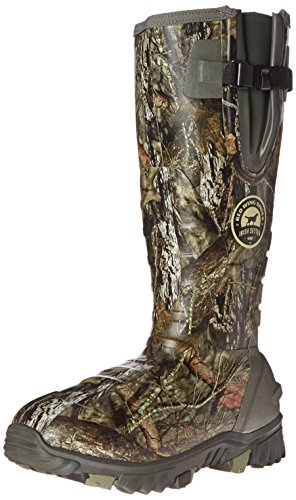 "Irish Setter Men's 4884 Rutmaster 2.0 17"" 1200-Gram Rubber Hunting Boot, Mod Country Camo, 11 E US"