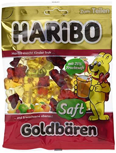 Haribo Saft-Goldbären, 10er Pack (10 x 175 g)