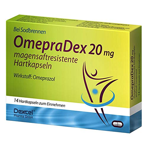 OMEPRADEX 20 mg magensaftresistente Hartkapseln 14 St