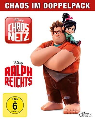Ralph reicht's + Chaos im Netz (Doppelpack) [Blu-ray]