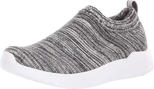 Skechers BOBS Women's Bobs Aria-Heathered Knit Bootie w Memory Foam Sneaker, GYBK, 8.5 M US