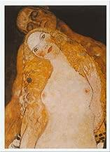 Buyartforless Adamo Ed Eva by Gustav Klimt 12x9.5 Art Print Poster