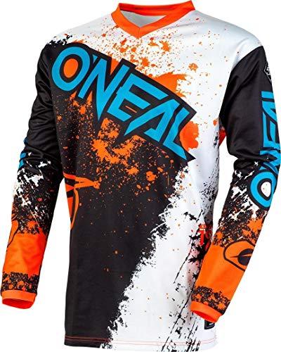 O'NEAL Element Impact FR Jersey Trikot lang schwarz/weiß/orange 2020 Oneal: Größe: S (44/46)