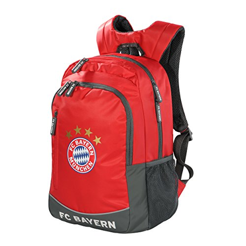 Mochila FC Bayern Múnich + Gratis Pegatinas München Forever, Munich funda/Sac à Dos/mochila/mochila