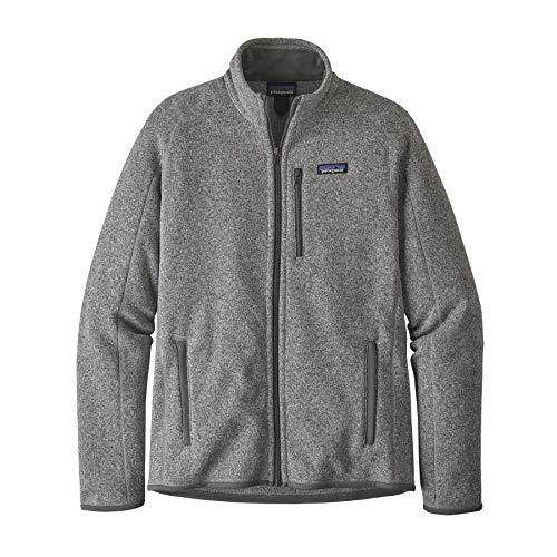 Patagonia Better Sweater - Giacca in pile da uomo, Uomo, 25528-STH, stonewash light gey, XL
