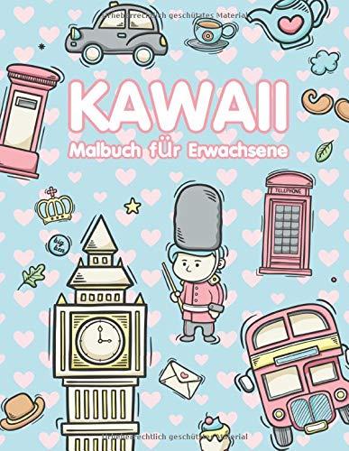 Kawaii Malbuch: für Erwachsene