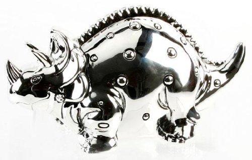 Christening Gifts. Boys Dinosaur Triceratops Money Box